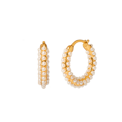 AFRODITA GOLD EARRINGS