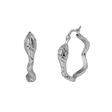Load image into Gallery viewer, IVY SILVER EARRINGS