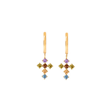 Load image into Gallery viewer, LOYALTY GOLD EARRINGS