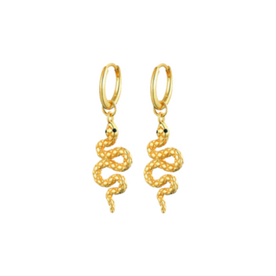 ANACONDA GOLD EARRINGS