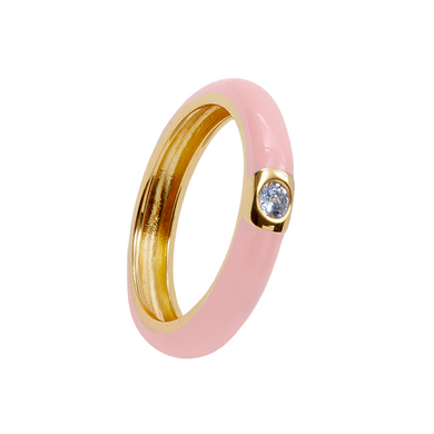 FLUSHY ISOLATION GOLD RING