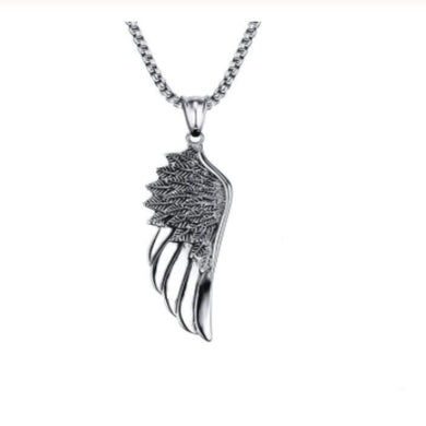 ANGEL SILVER NECKLACE