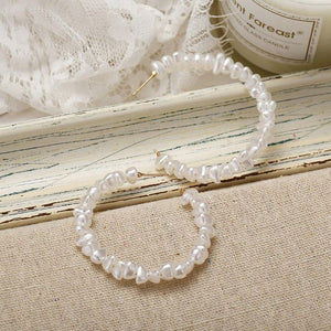 BOSTON PEARL HOOPS