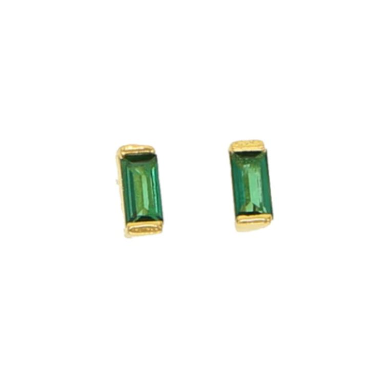 HALEY GREEN GOLD EARRINGS