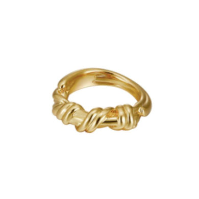 IRON GOLD RING