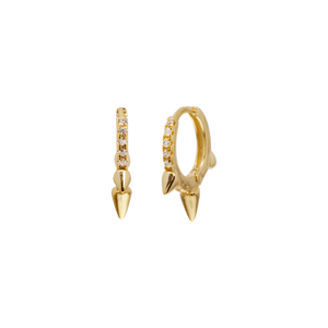KANYE GOLD EARRINGS