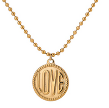 Load image into Gallery viewer, LOVERS GOLD NECKLACE