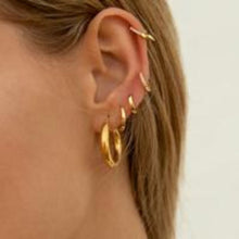 Load image into Gallery viewer, MINI IVORY GOLD EARRINGS
