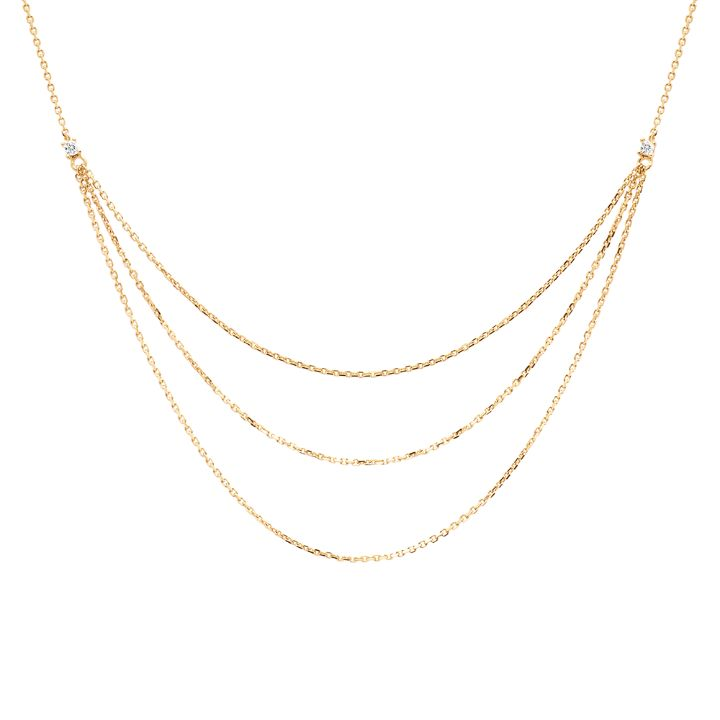 NIA GOLD NECKLACE