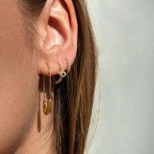 Load image into Gallery viewer, PIN GOLD EARRINGS