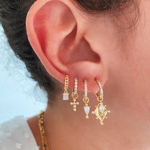 Load image into Gallery viewer, ROMBE GOLD EARRINGS