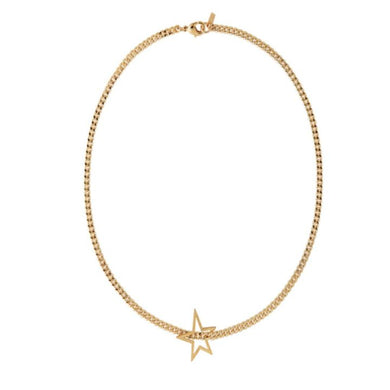 SHOOTING STAR CURB NECKLACE