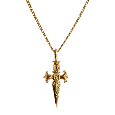 SWORD CROSS NECKLACE