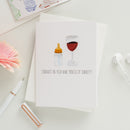 Congrats On Your Nine Months Of Sobriety - Greeting Card