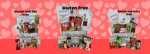 February's gluten free food and snack subscription box