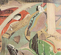The tale of Genji picture scroll 12th century