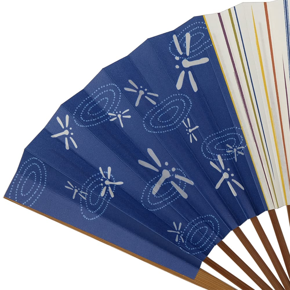 Edo Sensu No.13 Dragonfly Striped Indigo