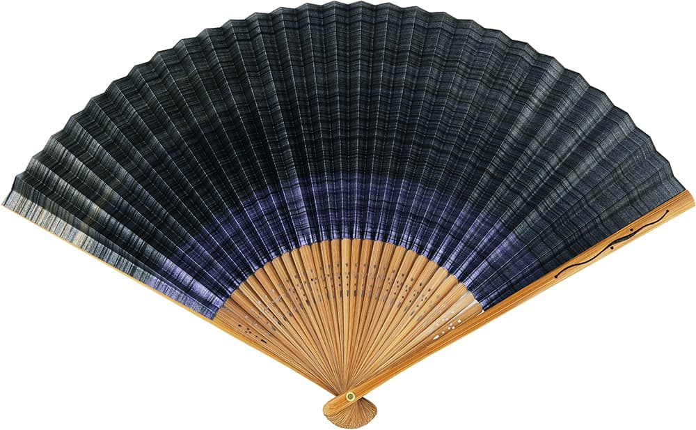 Shikabi fan Kasumi Double-sided purple