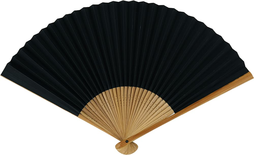 A snoring fan, black, gentleman.