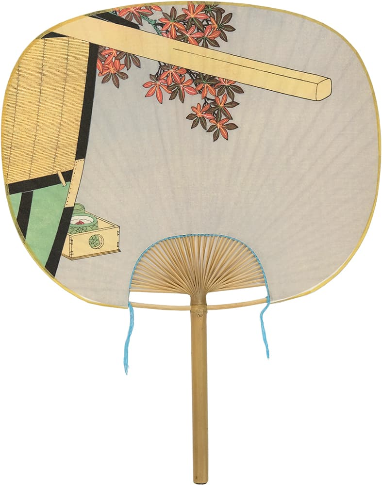 Edo Uchiwa Now Twelve Months Toyokuni Early Winter (October)