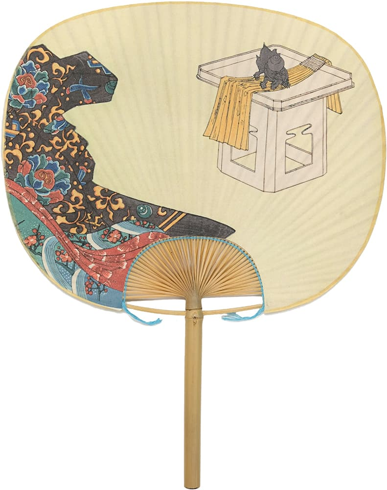 Edo Uchiwa now 12 months Toyokuni early spring (January of the Yin calendar)