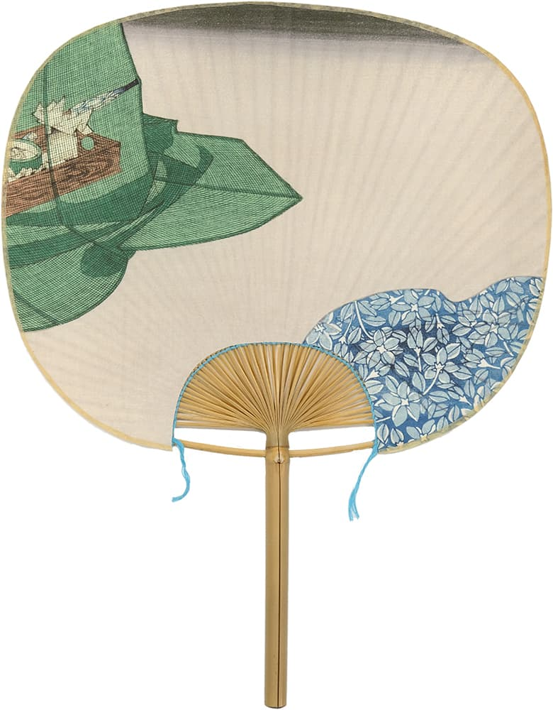 Edo Uchiwa Now Twelve Months Toyokuni Midsummer (May Yin calendar)