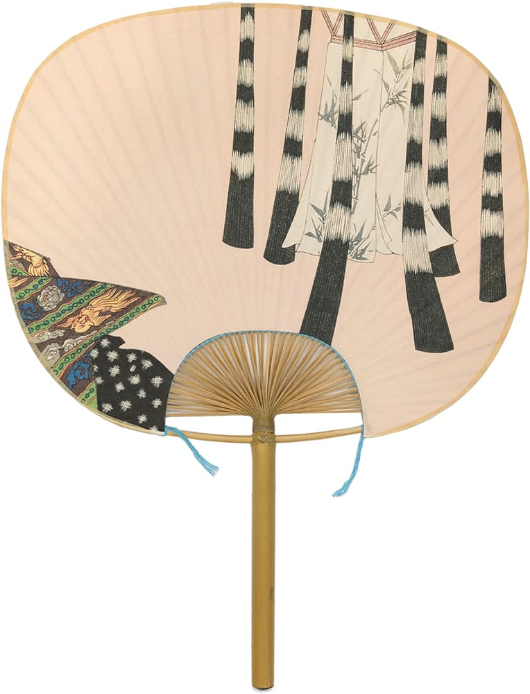 Edo Uchiwa now 12 months Toyokuni early autumn (July in the calendar)