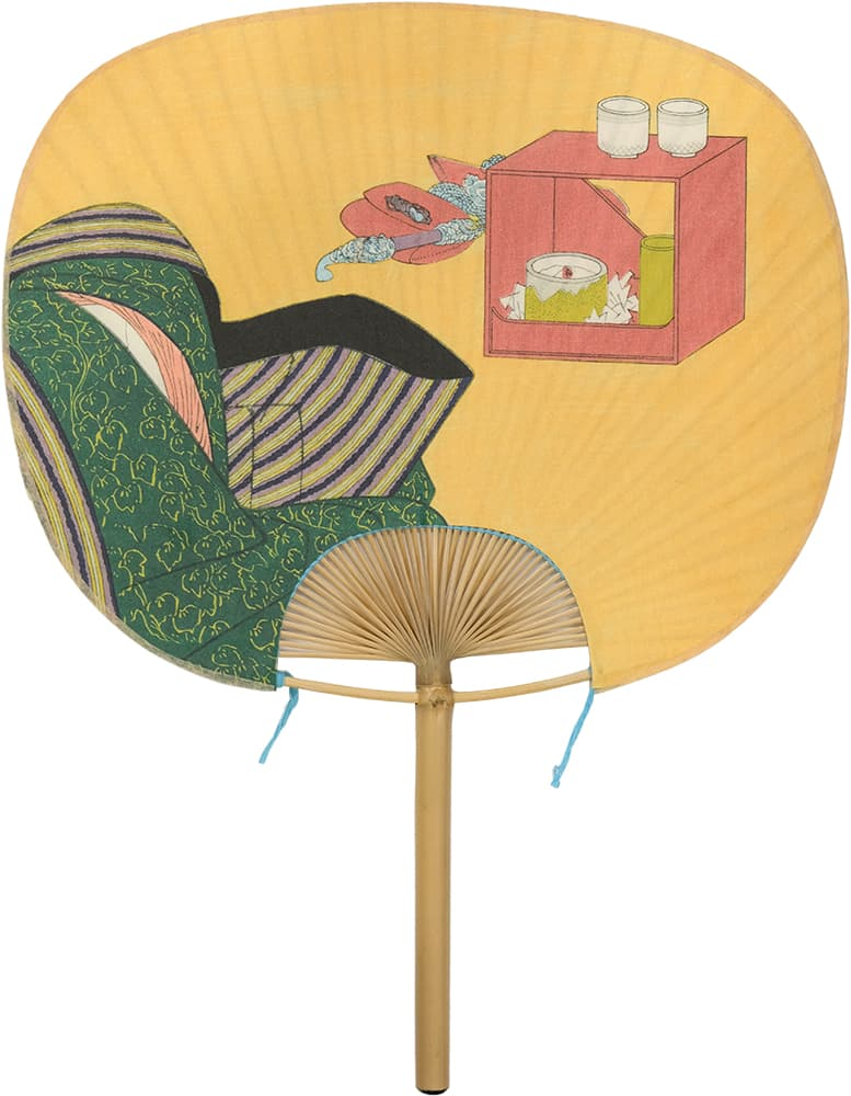 Edo Uchiwa now 12 months Toyokuni Kikuzuki (September in the calendar)