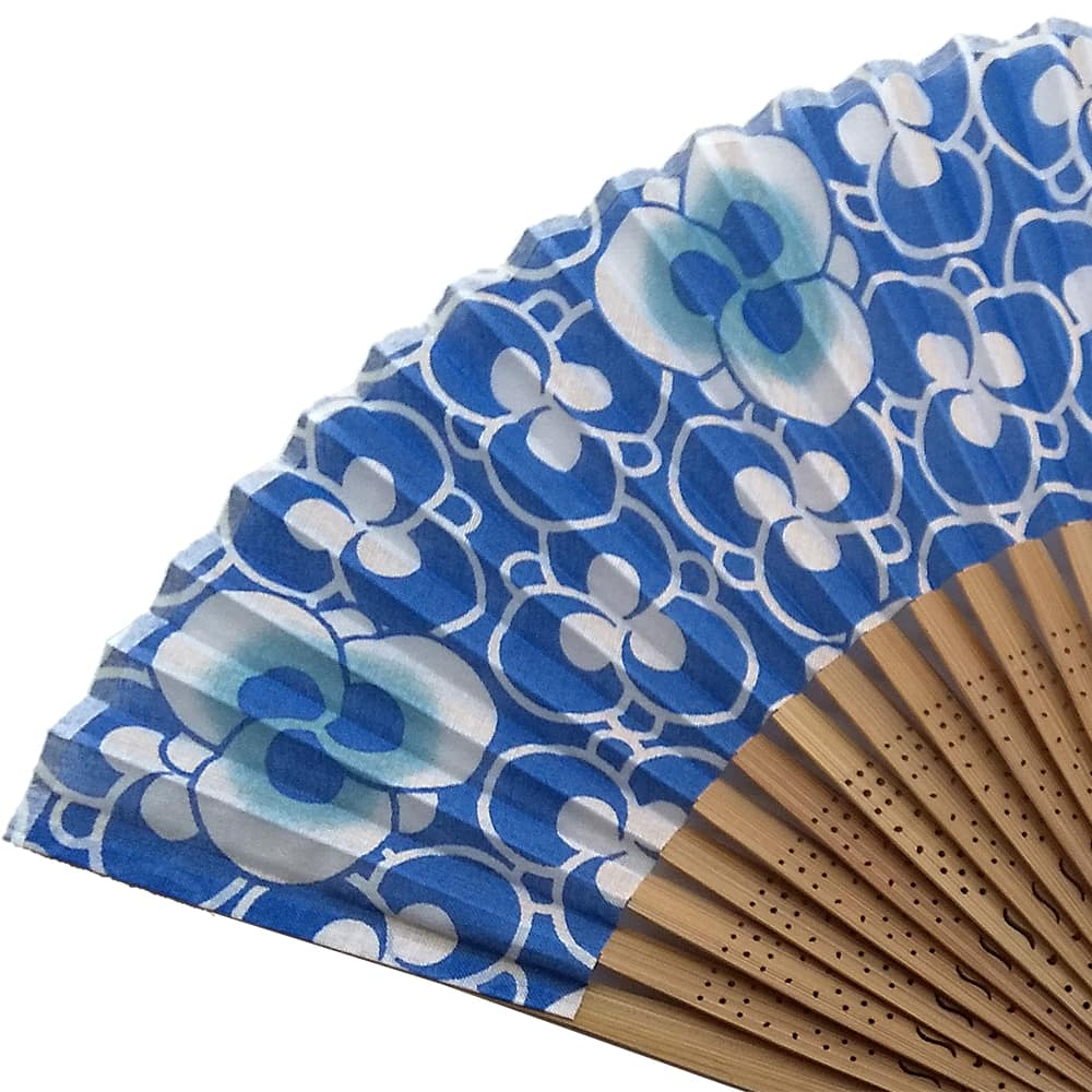 a hand-wiped fan