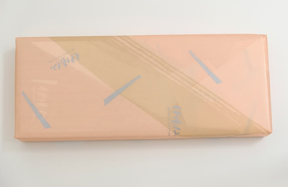 Wrapping Service Packed Paper Pink