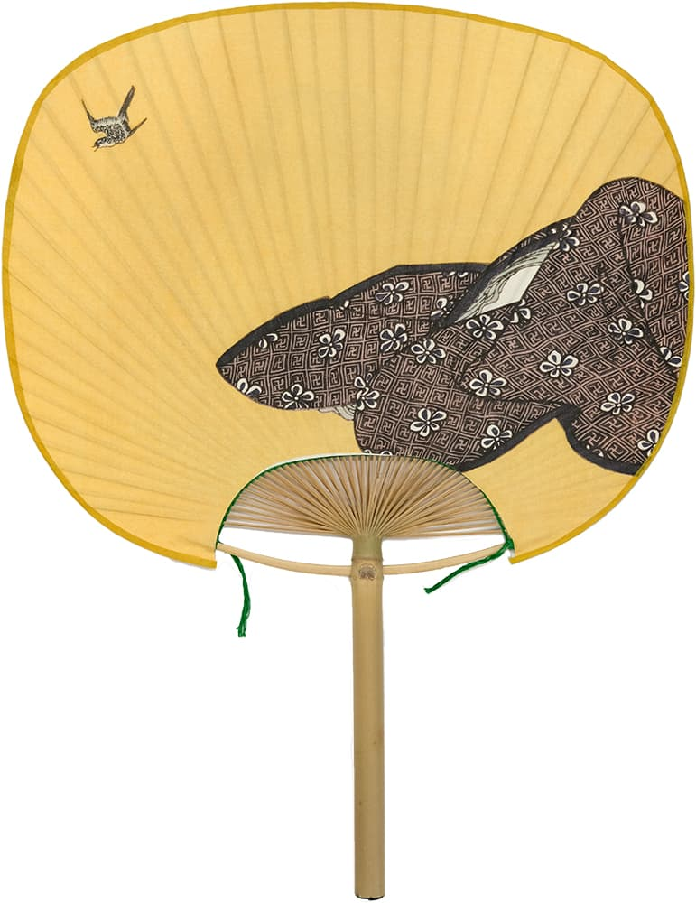 Edo Uchiwa Now Twelve Months Toyokuni Uzuki (April Yin calendar)