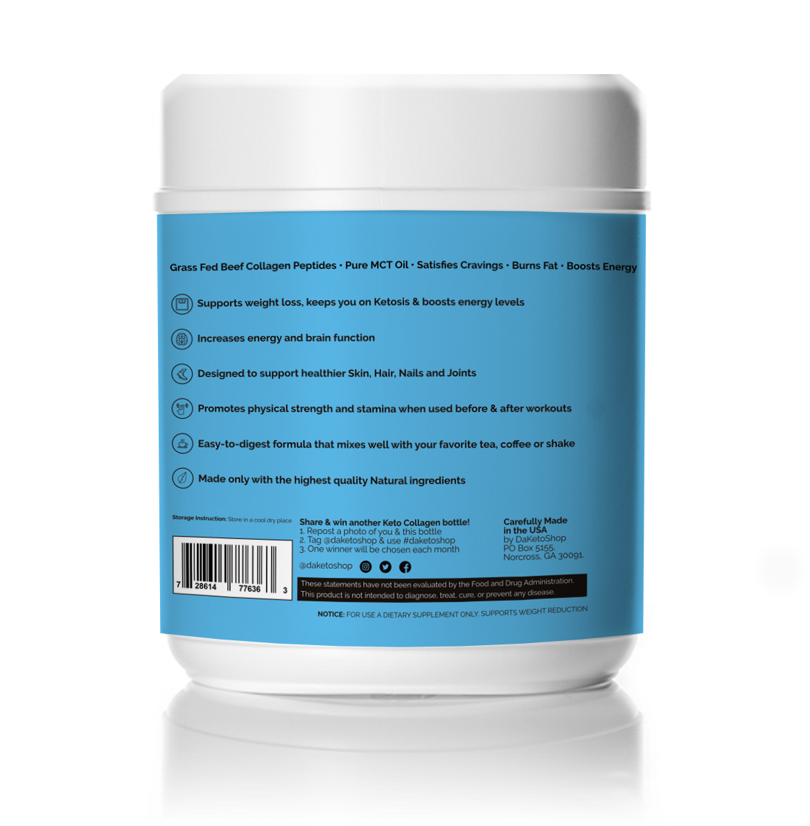 daketoshop keto collagen