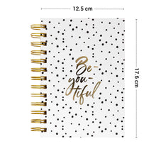 Load image into Gallery viewer, Be you tiful polka size b6 diary