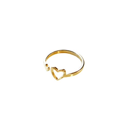 Miracle heart ring in brass purchase with purpose