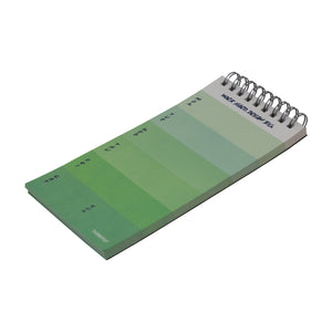 60 sheets in work hard weekly planer notepad
