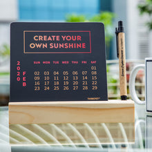 Load image into Gallery viewer, create your own sunshine calendar 2020 for desk