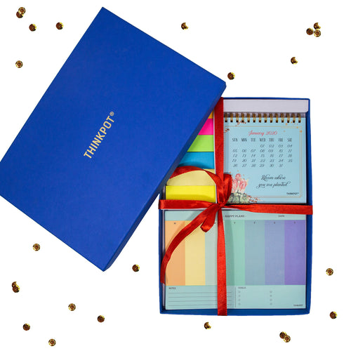 Happy plan stationery gift set in box