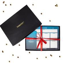 Load image into Gallery viewer, happen stationery gift set notebook and planner