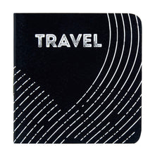 Load image into Gallery viewer, Travel mini pocket book with black and white cover design