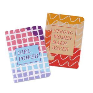 set of 2 pocket books girl power