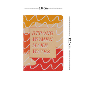 Pocket book easy to carry strong women design