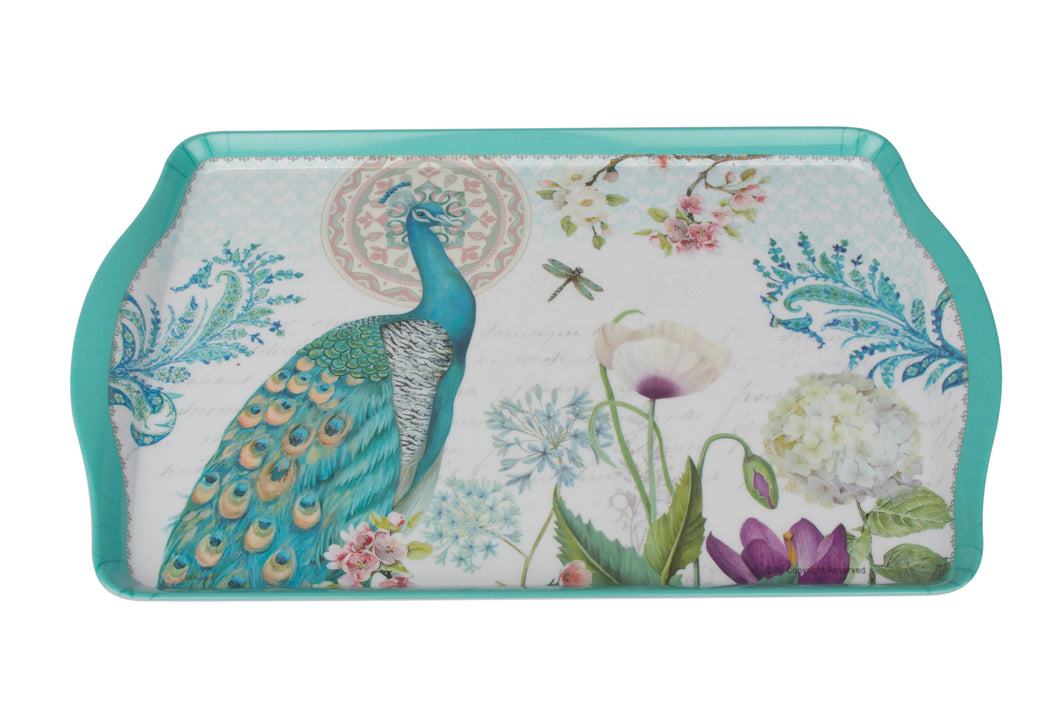 Serve almost anything with this beautiful tray. Perfect for parties or everyday usage, it is a great addition to your kitchen and dining collection. It is also a fabulous gifting idea and can even be used to layout other knick knacks as gifts and create a little hamper for that special someone. Material: Melamine