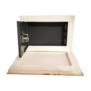 Storage space for hiding away valuables in book safe