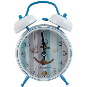 nautical alarm clock with anchor