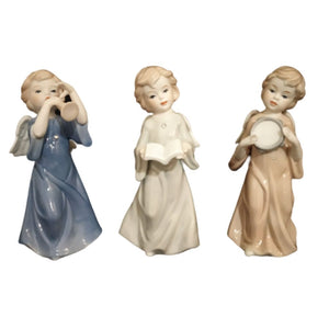 Ceramic Angel set of three