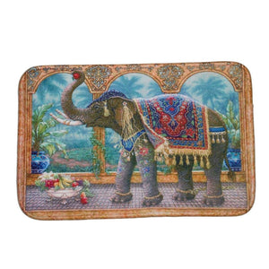 royal elephant bath mat