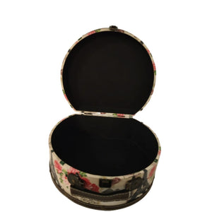 Hatbox in large size for storage in parisian look