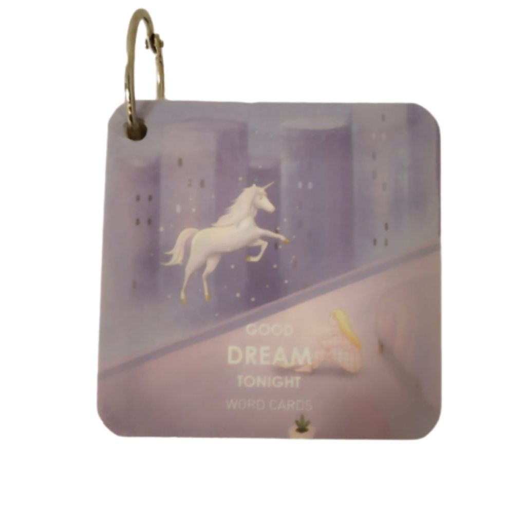 Unicorn mini memo pad with ring buckle