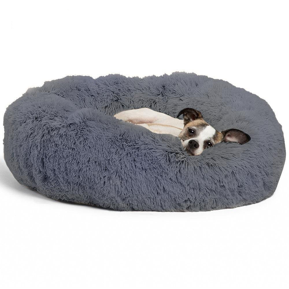 LazySelect™ Calming Bed For Dogs & Cats Anti Anxiety - LazySelect