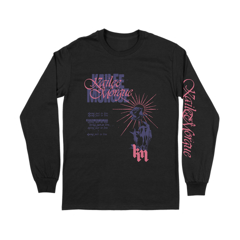 """Dying To Live"" Black Longsleeve Shirt"